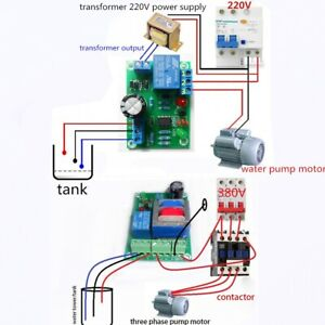 Water Liquid Level Controller Switch Sensor Module For Pond Tank Warter