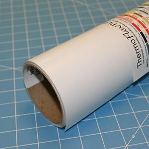 Thermoflex Plus 15 X 10 Roll White Heat Transfer Vinyl