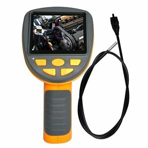 Industrial Endoscope 3 9mm Camera Video Inspection Pipe Borescope 180 Rotation