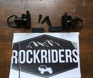 1997 2006 Jeep Wrangler Unlimited Sunrider Clips For Oem Door Surround Pair