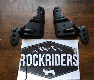 2004 2006 Jeep Wrangler Unlimited Lj Soft Top Frame Mounting Brackets Pair