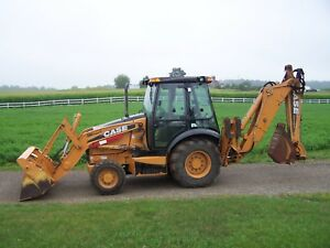 Case 580 Super N Backhoe