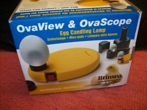 Brinsea Ovaview And Ovascope Egg Viewing Candling System Egg Candling Kit Read