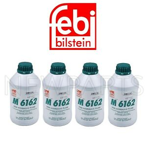 Set Of 4 Liters Hydraulic System Fluids M6162 Mineral Fluid Chf 7 1 For Bmw Vw