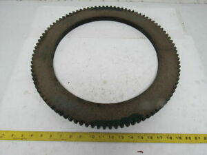 19 1 2 Od 14 1 4 Id Internal Tooth 96t 0 885 Thick Clutch Friction Disc