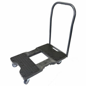 Snap loc Moving Dolly Push Bar Platform Truck 1500 Lbs Capacity