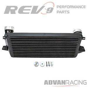 For Bmw 335i xi E9x Rev9 ick 014 b Front Mount Intercooler Bolt On Upgrade Fmic