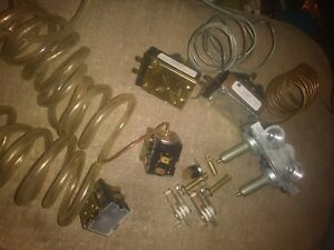 Lot Of Commercial Restaurant Equipment Parts For Gas Range Oven And Fryer