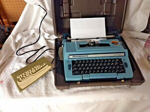 Vintage Smith corona 3l Sterling Cartridge Electric Typewriter Excellent Tested