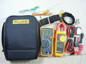 Fluke 116 323 Hvac Kit With Accessories Fluke Case 57737 57738 L k