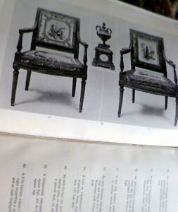1932 English French Furniture Chinese Porcelain Sotheby London Auction Catalog