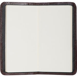 Scully Italian Leather Blank Page Pocket Notebook Business Accessorie New