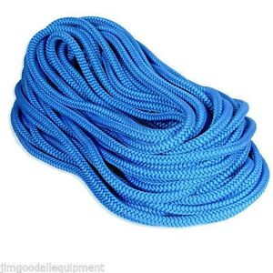 True Blue Tree Climbing Rope By Samson Rated 7300 Lb 12 Strand 1 2 X 200