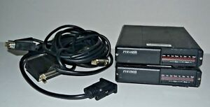 Lot Of 2 Pyramid Svr 200v Vhf 150 174 Mhz Vehicle Repeaters W cables