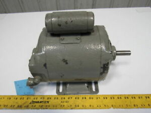 Westinghouse 1180026b 1 2hp 115 230v D186 Frame Single 1 Phase Electric Motor