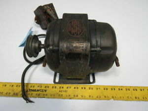 Baldor Xib E13071 1 2hp 3440rpm 110 220v 60hz 1ph Vintage Electric Ac Motor