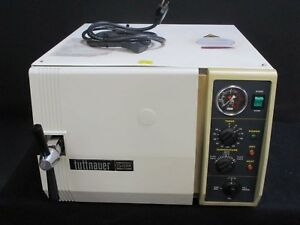 Tuttnauer Siemens 2340mk Dental Steam Autoclave Sterilizer For Instruments