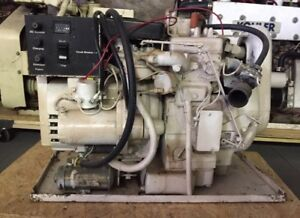 3 0 Onan Marine Gas Generator Set With Only 116 Hours