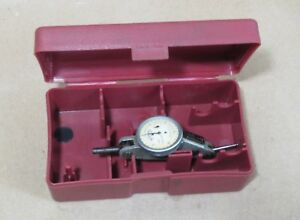 Swiss Interapid Dial Test Indicator 312b 20 One Inch Dial 001 Grad Jeweled
