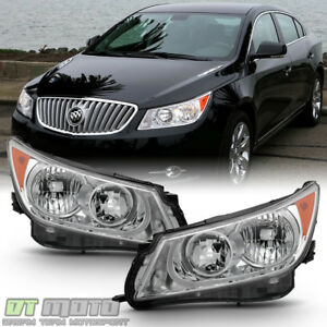 Factory Style Headlamps For 2010 2013 Buick Lacrosse Halogen Model Headlights