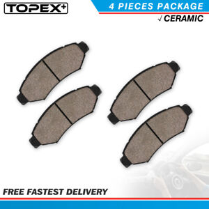 Front Ceramic Brake Pads For Ford Mustang Base Gt1999 2000 2001 2002 2003 2004