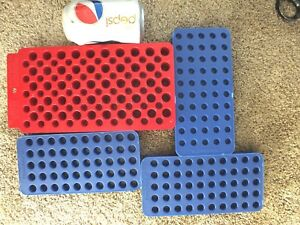 SET OF FOUR RELOADING TRAYS FRANKFORD MTM FITS ALL RIFLE & PISTOL CARTRIDGES