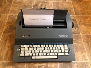 Smith Corona Electric Typewriter Spell Write Dictionary Deville 125 Works Great