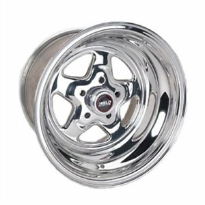 15x10 Weld Racing Prostar Drag Wheel 5x4 5 3 5 Bs W 96 510206 Pro Star Lite