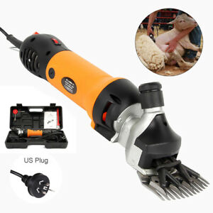 Sheep Goat Shears Clippers 690w Electric Animal Shave Grooming Farm Supplies Us