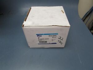 Box Of 50 Madison Electric 2 Universal Strut Clamps Scu 200 Damaged Box