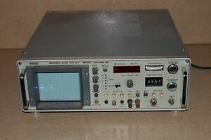 Anritsu Microwave Radio Test Set Model Me645a