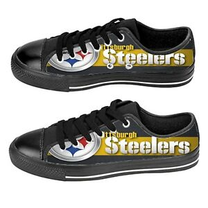 Custom Aquila Shoes For Kids And Adult Pittsburgh Steelers Shoes
