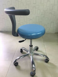Dental Chair Adjustable Mobile Doctor s Assistant Stools Pu Leather Dentist Usa