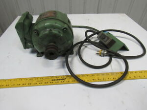 Brook 1hp 1730rpm 1ph 110v Ec180u 7 8 Shaft Electric Ac Motor