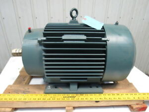 Baldor P28g7402 25hp 1770rpm 60hz 3ph 230 460v 284tc Severe Duty Electric Motor