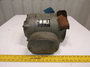 Howell 1hp 1760rpm 230v 1ph 60hz 3 4 Shaft Induction Electric Motor