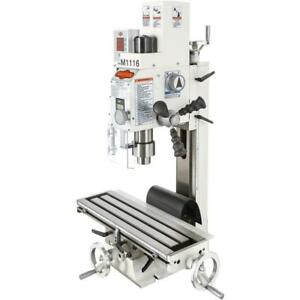 Shop Fox M1116 variable speed Mill drill With Dro