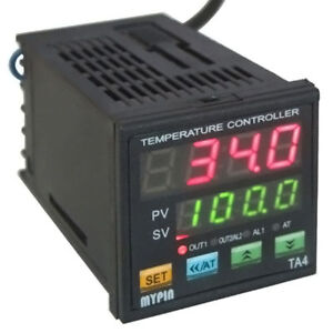 Pid Digital Temperature Controller Dual Display Ssr Tc Kiln Thermocouple Control