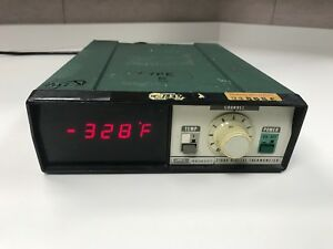 Fluke 2166a Digital Thermometer Meter Only No Probes