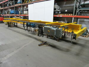 30 Span 5 Ton Single Girder Top Runner Bridge Crane W demag Hoist