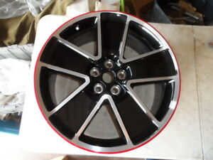 12 14 Gm Chevrolet Chevy Camaro Red Flange Oem Factory Wheels 92244574 92244571