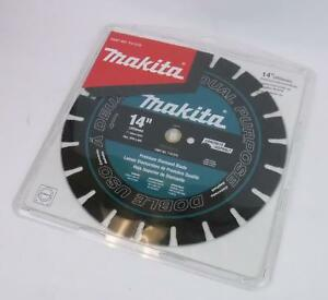 New Genuine Makita T 01270 14 Premium Diamond Blade Concrete Asphalt