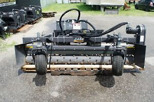Case harley Paladin Mx7h Power Landscape Rake 7 Hydraulic Angle Factory Demo