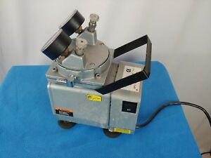 Millipore Xx5500000 Laboratory Vacuum Pump 115v Heavy Duty Industrial