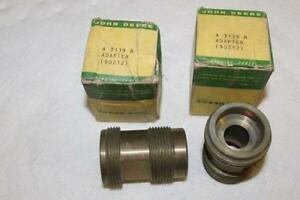 Two New Old Stock Genuine John Deere A3139r Power Trol Adapters A B G