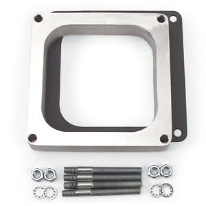 Edelbrock 8717 Carburetor Spacer Holley Dominator 1 Aluminum Open