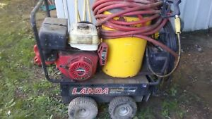 Landa Commercial Pressure Washer 3000psi Hot Water Model Mvp4 3032