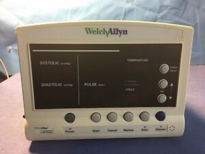 Welch Allyn 52000 Series Nibp Pulse Temp Patient Monitor For Parts