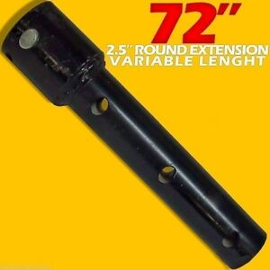 72 2 5 Round Variable Length Auger Drive Extension fits All Brands bobcat cat