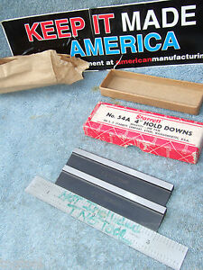 Starrett 54a Vintage Hold downs Boxed Usa Machinist Toolmaker Other Usa Made